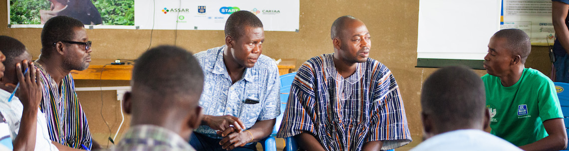 From research to action: how a project in Ghana is bridging the gap between researchers and local communities to support farmers during the dry season
